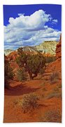 Shakespeare Trail In Kodachrome Park Beach Towel
