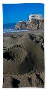 Shark Sculpture Beach Towel
