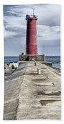Sheboygan Breakwater Beach Towel