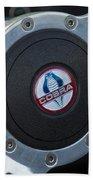 Shelby Cobra Steering Wheel Beach Sheet