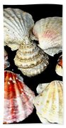 Shell Flower Beach Towel