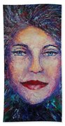 She's Come Undone Beach Towel by Shannon Grissom
