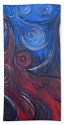 Shiva Rea's Sacred Fire Beach Towel