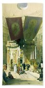 Shrine Of The Holy Sepulchre April 10th 1839 Beach Towel