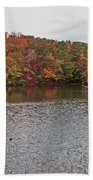 Sibley Pond Beach Towel