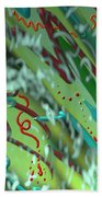 Signs Of Life Beach Towel