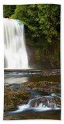 Silver Falls Waterfall Beach Towel