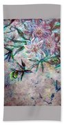 Silver Passions Beach Towel
