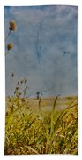Singing In The Grass Beach Towel
