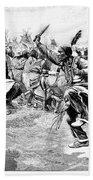 Sioux Ghost Dance, 1890 Beach Sheet