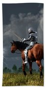 Sir Lightning Rod Beach Towel