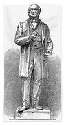 Sir Rowland Hill (1795-1879) Beach Towel
