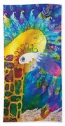 Sirin The Bird Beach Towel