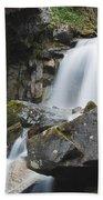 Skagway Waterfall 8619 Beach Towel