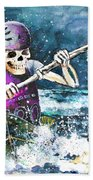 Skelet Oar Beach Towel