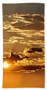 Sky Ablaze 1 Beach Towel by Marty Koch