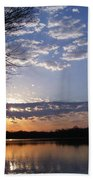 Sky At Dusk Beach Towel