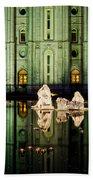 Slc Temple Nativity Beach Sheet