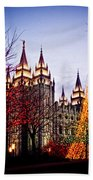 Slc Temple Tree Light Beach Towel