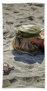 Sleeping Beauty Beach Sheet