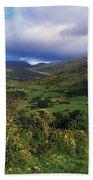 Slieve Bearnagh, Mourne Mountains, Co Beach Towel