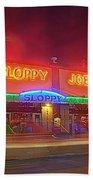 Sloppy Joes Beach Towel