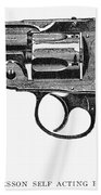 Smith & Wesson Revolver Beach Towel