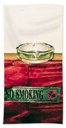 Smoking Mixed Messages Beach Towel