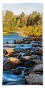 Smooth Rapids Beach Towel