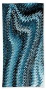 Snake Abstract Beach Towel
