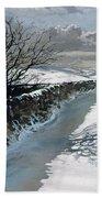 Snow Above Barbondale - Barbon Beach Towel