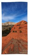 Snow Canyon 1 Beach Towel