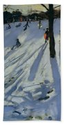 Snow Rykneld Park Derby Beach Towel