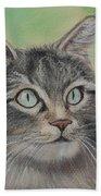Soft Kitty Beach Towel