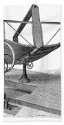 Solar Engine, 1884 Beach Towel