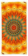 Solar Wind Beach Towel