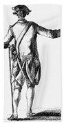Soldier, 18th Century Beach Towel
