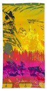 Soldier For Love Beach Towel