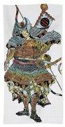 Soldier: Samurai Beach Towel