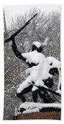 Soldiers In The Snow Beach Towel