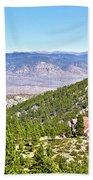 Solitude With A View - Carson City Nevada Beach Towel