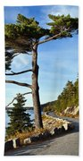 Somes Sound Maine Beach Towel