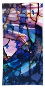 Songs And Colours  Beach Towel