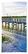 Soundside Park Surf City Beach Towel