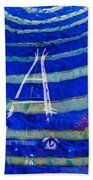 Space Needle Reflected Beach Towel