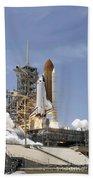 Space Shuttle Atlantis Twin Solid Beach Sheet