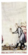 Spain: Medieval Ballgame Beach Towel