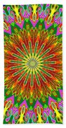 Spanish Tile Beach Towel