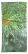 Sparkly Pine Beach Towel