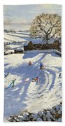 Sparrowpit Derbyshire Beach Towel by Andrew Macara